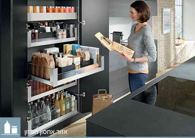 אמביה-ליין למגירות לגראבוקס וטאורבוקס   בלורן מוצרי פרזול איכותיים