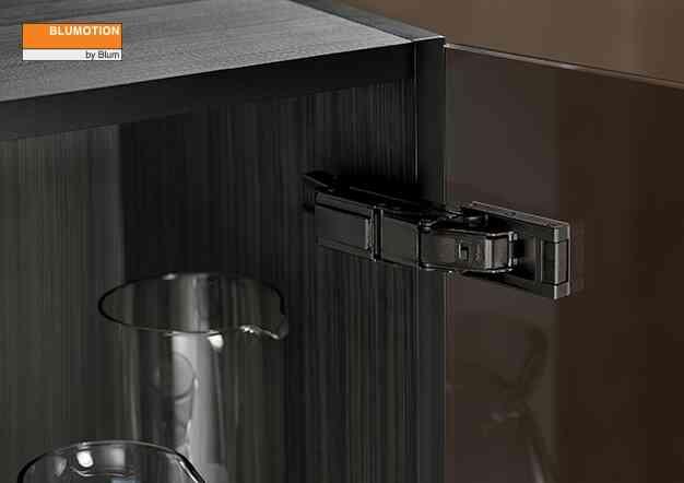 צירים שחורים ONYX BLACK - קליפ טופ בלומושן | בלורן מוצרי פרזול איכותיים