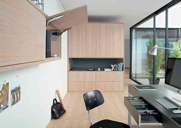 פתרונות סדר ואחסון למשרד - פתרונות פרזול ועיצוב למשרד הביתי