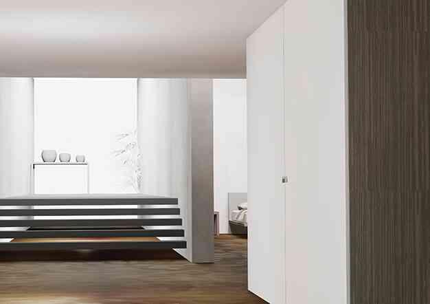 מערכת הזזה מישור אחד - מערכות הזזה לארונות ולרהיטים | בלורן מוצרי פרזול איכותיים