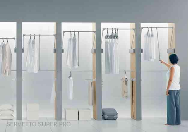 פתרונות אחסון וסדר לארונות בגדים | בלורן מוצרי פרזול איכותיים
