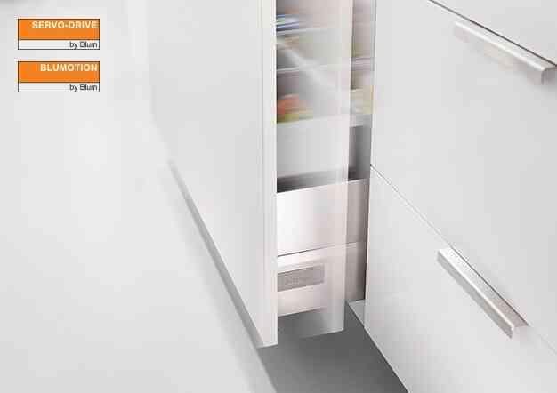 סרוו-דרייב אונו - תמיכה חשמלית למגירת פחים | בלורן מוצרי פרזול איכותיים