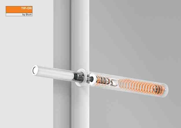 טיפ-און: פתיחה מכאנית לדלתות צירים וקלפות | בלורן מוצרי פרזול איכותיים