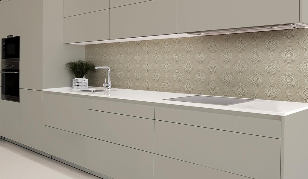 חיפוי קיר זכוכית למטבח מבית PORTALINE - חיפוי קיר מטבח מעוצב | בלורן ייבוא ושיווק פרזול