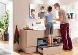 פתרונות סדר ואחסון לארונות אמבטיה