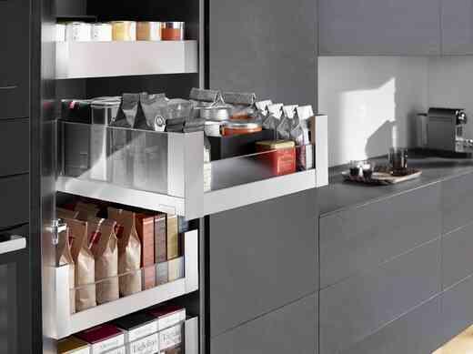 מגירות למטבח BLUM  -  בלורן מוצרי פרזול איכותיים