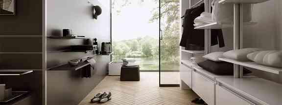 פתרונות פרזול ועיצוב לארונות בגדים